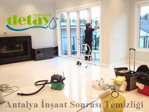 Antalya inşaat sonrası temizliği